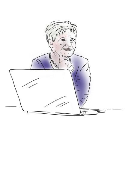 "Imagebild ""Helga"", Connect45plus"